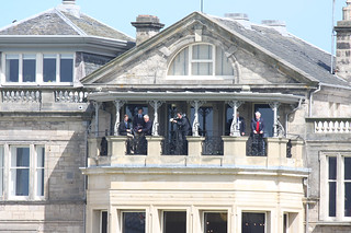 The Royal & Ancient: The Captians' Balcony | by Jacqui Herrington: