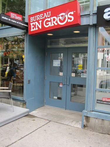 Bureau en gros copies 1602 rue sainte catherine ouest for Bureau en gros delson