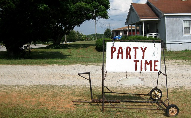 I want to go where it's always Party Time