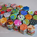 Hexagon Charm Quilt :: Progress