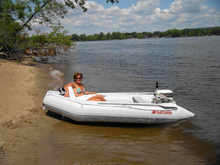 Saturn SD330 11' inflatable boat