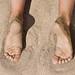 Beach: the sand