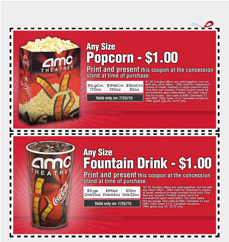 coupons amc
