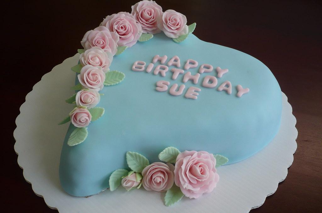 Birthday Cake Images Sue : Sue s Birthday Cake Liz Hunt Flickr