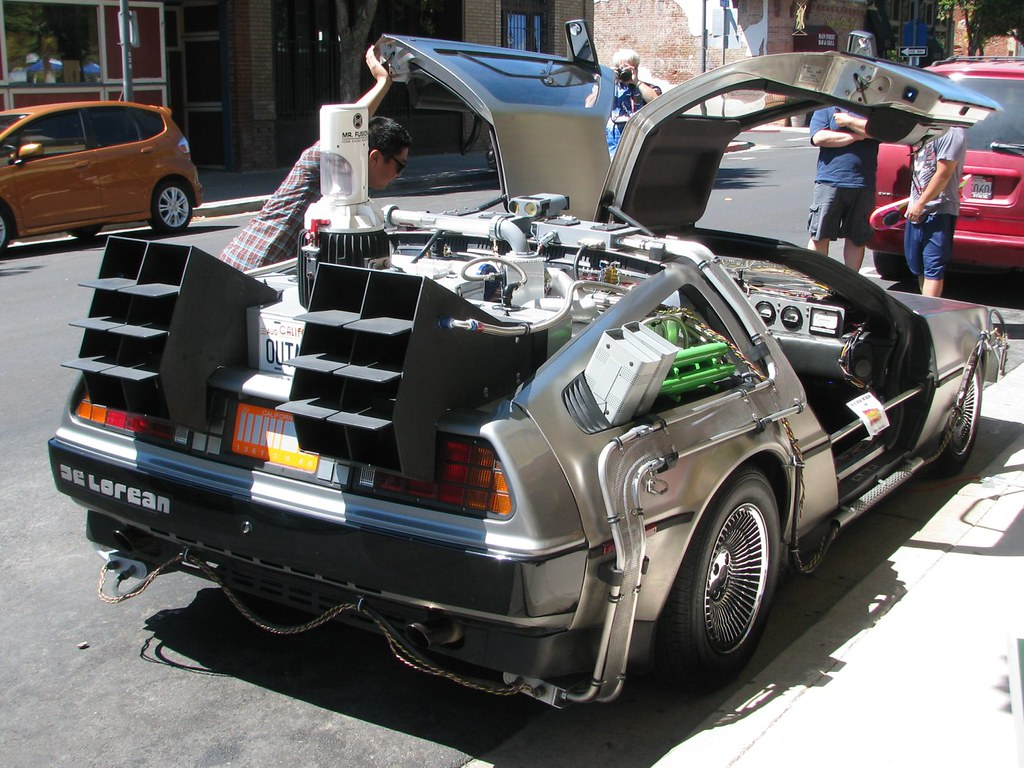 Back To The Future Car Ca For Sale