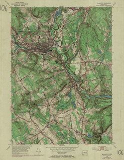 Willimantic Quadrangle 1970 - USGS Topographic Map 1:24,000 | by uconnlibrariesmagic