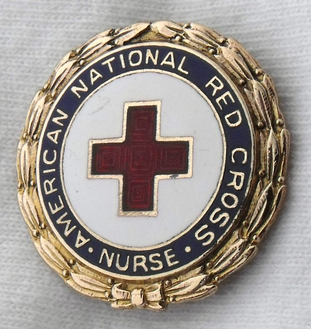american national red cross nursing pin