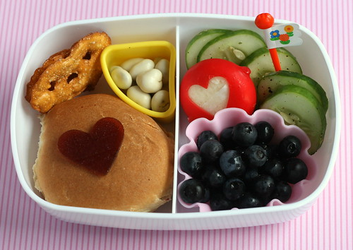summer sassy bento | by anotherlunch.com