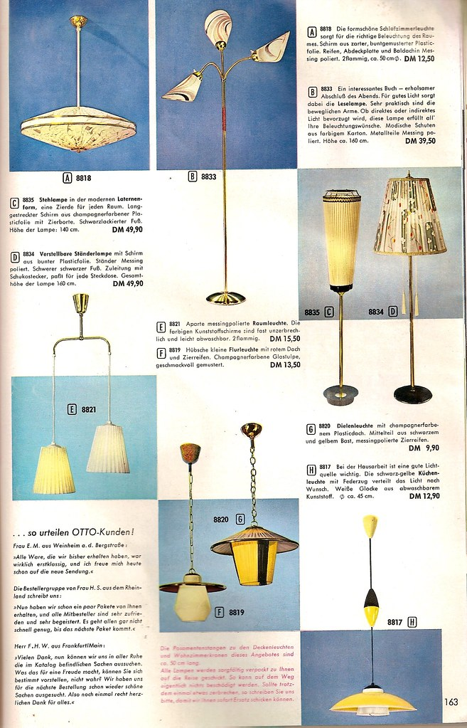 1959 Otto Katalog Lampen Diepuppenstubensammlerin Flickr