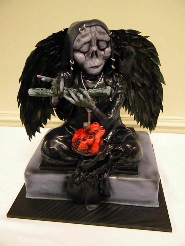 Grim Reaper Cake Pan