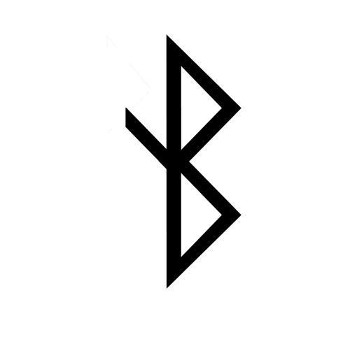Healing Viking Symbol A Rune Based Symbol Meaning Heali Flickr