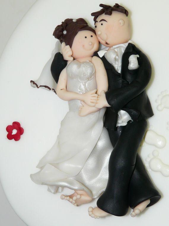 Individuell Modelliertes Brautpaar Liegend Www Suess Und S Flickr
