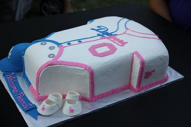 Dodger Baby Shower Cake Pic2 Dodger Babyshower Cake Paren Flickr