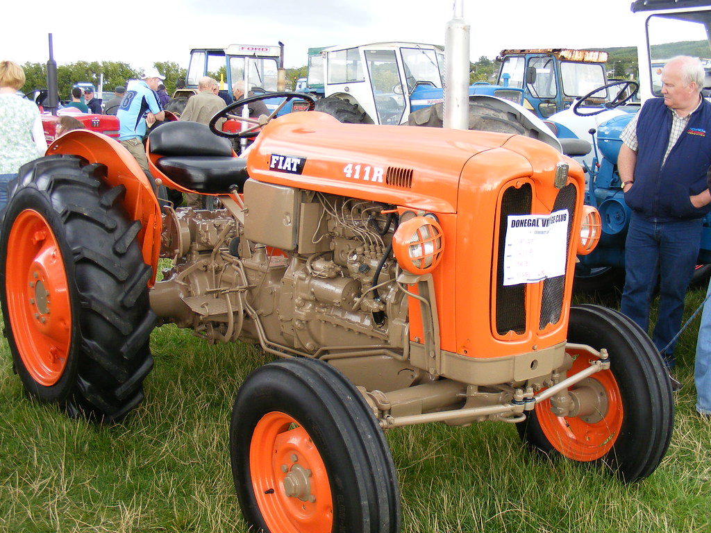 donegal vintage rally 2010 fiat 411r by braveheart1979 Array - fiat 411r  tractor workshop manual ...