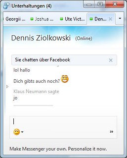 Facebook Chat in Messenger 2011 | by mynetx