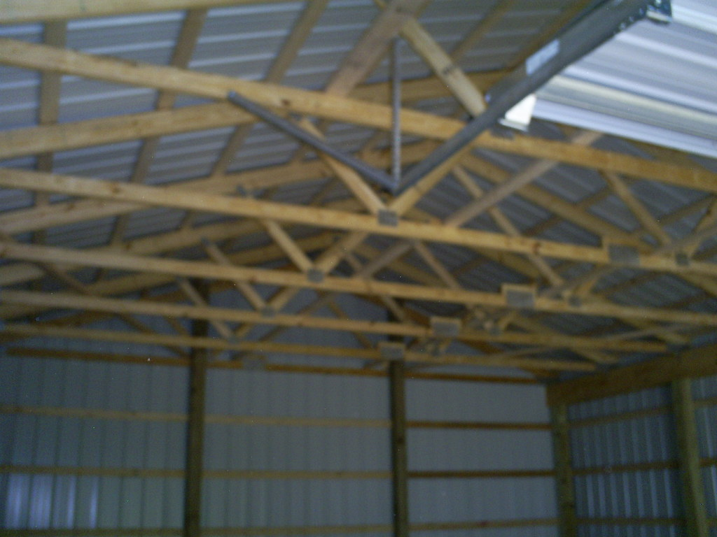 24 X 32 X 10 Barn Trusses Pre Engineered Wood Trusses 4