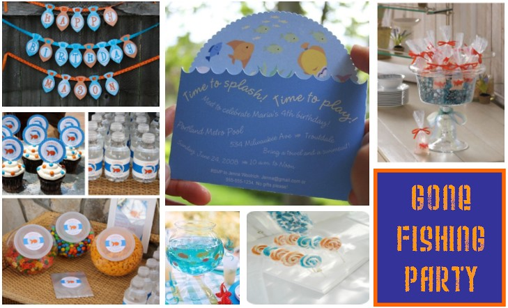 Gone fishing party maymae21 flickr for Fishing party favors