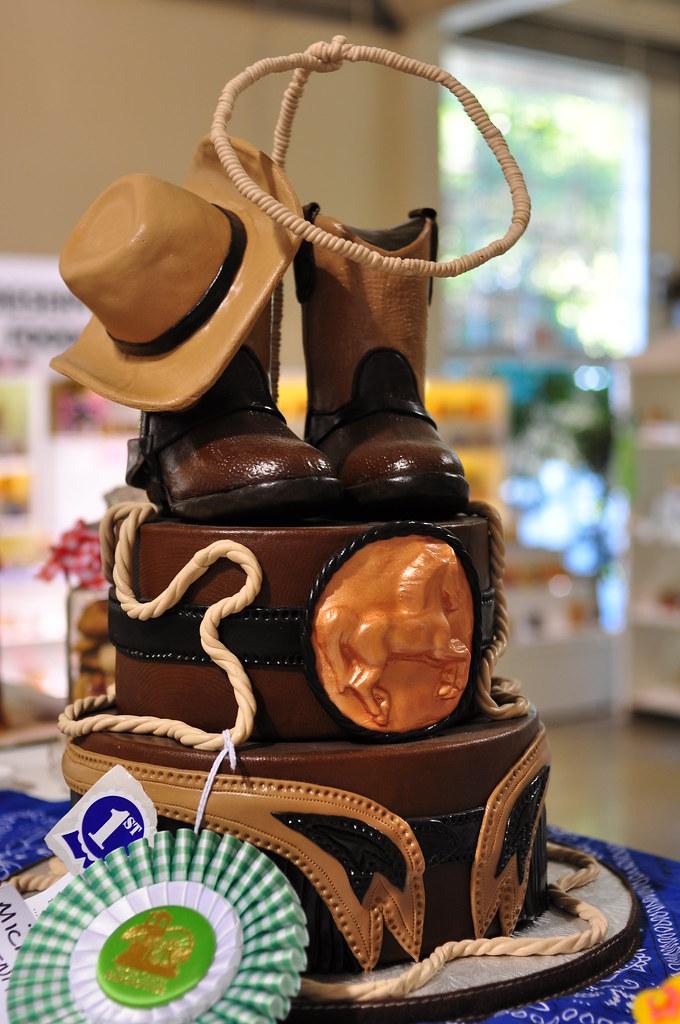 Cowboy Cake Zakvta Flickr