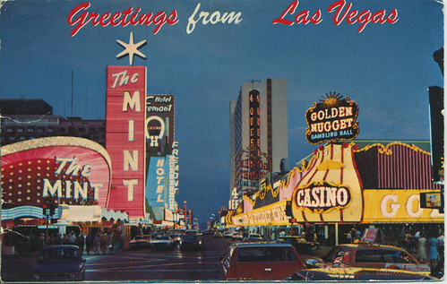 """Las Vegas Downtown 1960s 