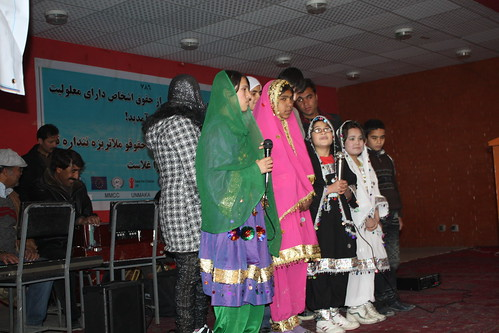 Kids sing during Children day | by Afghan Landmine Survivors Organization