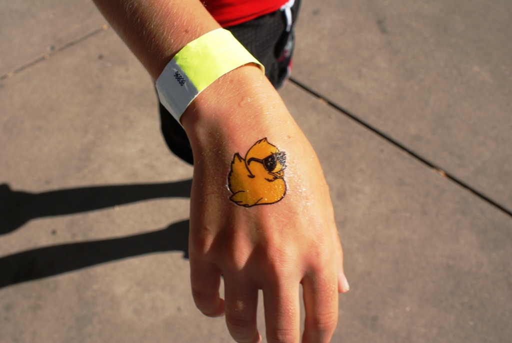Rubber duck tattoo meaning