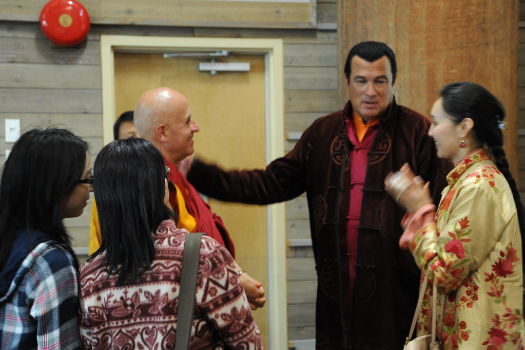 Chungdrag dorje steven seagal introduces his wife elle t - Dominic seagal ...