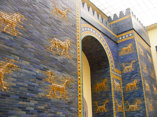 Reconstructed Ishtar Gate And Throne Room Wall