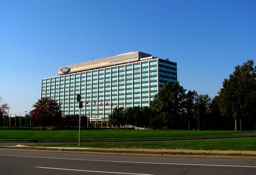 Glass House Ford Motor Co Headquarters Ford Motor Co