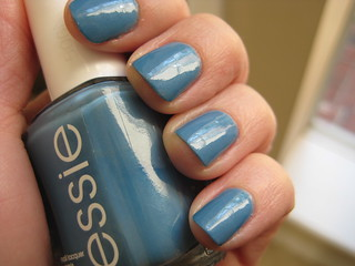 essie coat azure | by Twisted Knitter