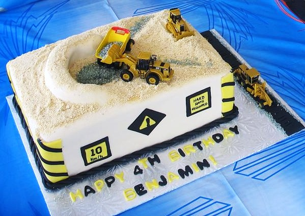 Special Cake Design Kl : Construction cake Special design for a birthday boy who ...
