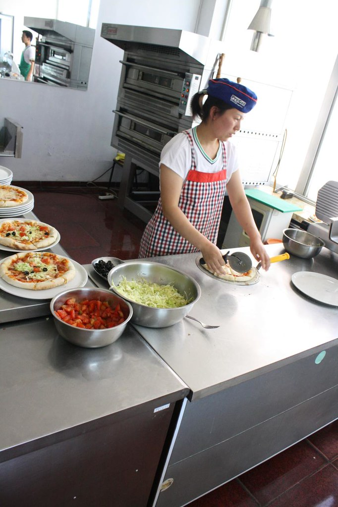 North Korea Pizza Restaurant