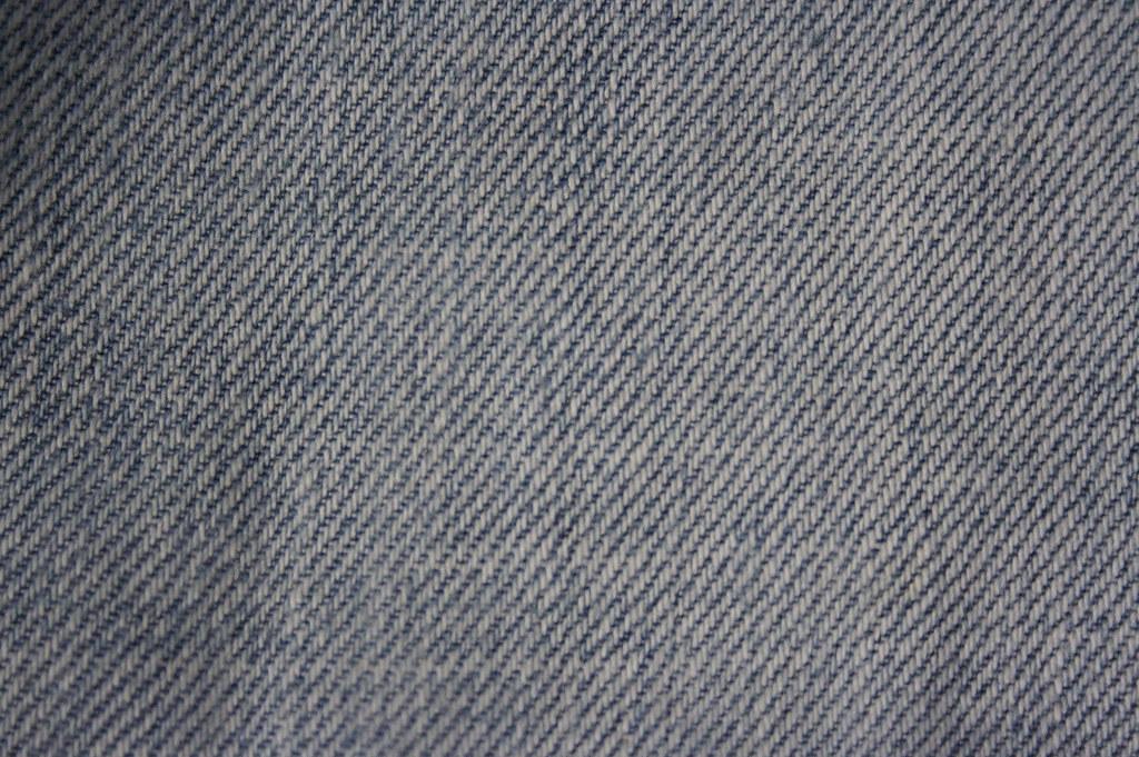 Denim Fabric | Macro shot of fabric from naturally worn ...