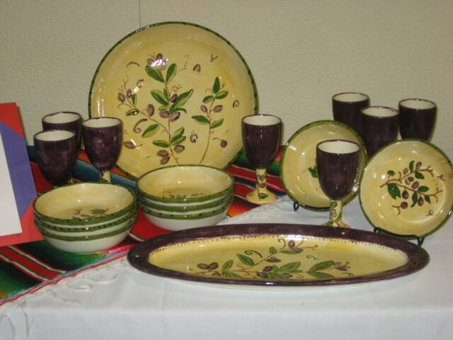 Tuscan Dinnerware | The Pottery Stop Gallery! | Flickr