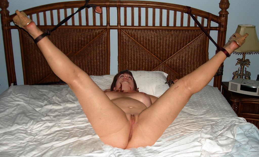 Naked Tied To Bed 40