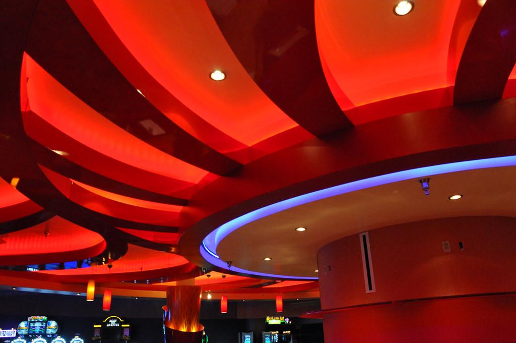 Bar Decor Design Round Bar Lounge Ceiling Route 66 C
