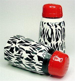 Funky Salt And Pepper Shakers Zebra Print My Entry Into