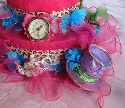 alice bridal shower alice baby shower alice in wonderland tea party centerpiece by