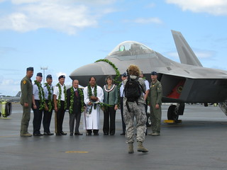 F-22 Arrival Ceremony | by Bytemarks