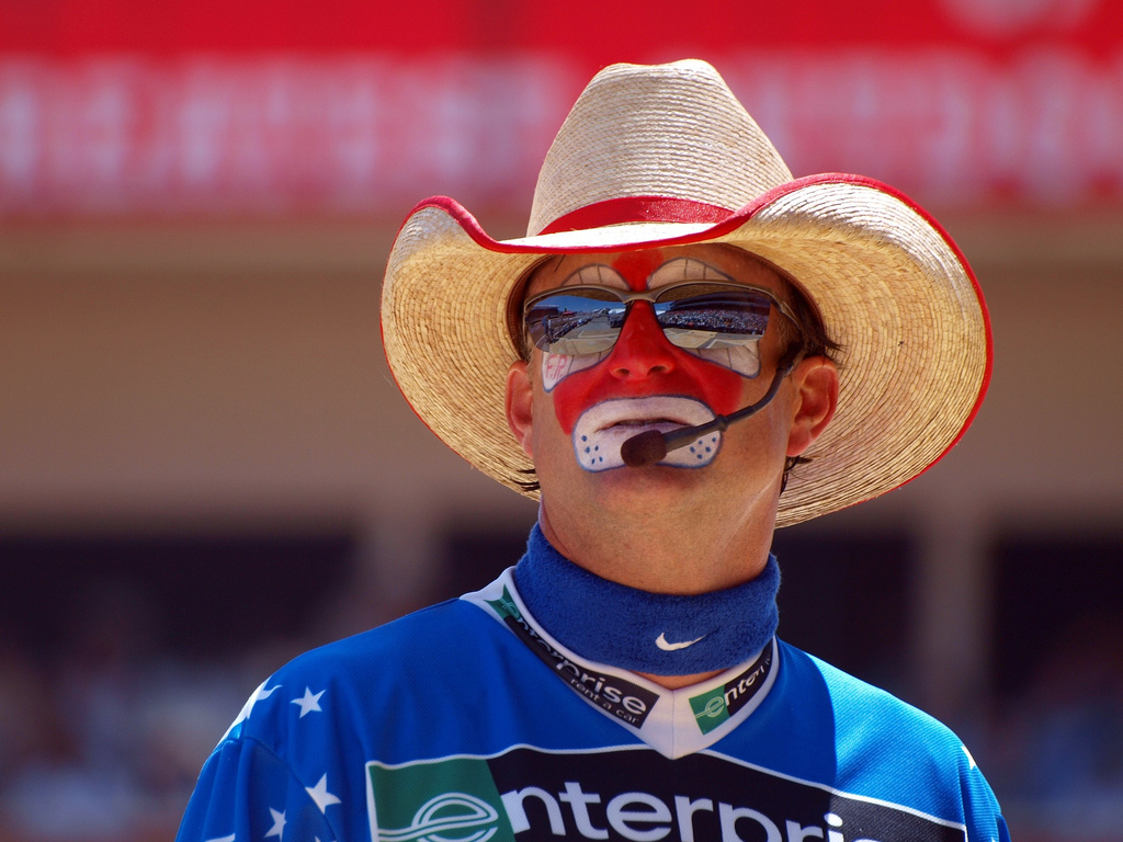 Pictures Of Rodeo Clown Face Paint
