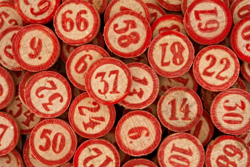 Bingo Numbers Leo Reynolds Flickr
