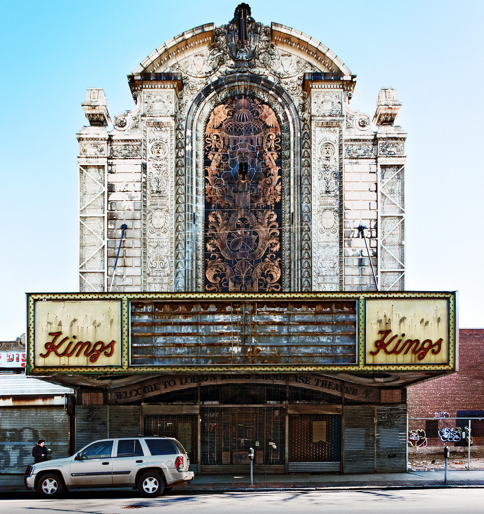 Front Elevation Theatre : Front elevation loew s kings theatre  flatbus