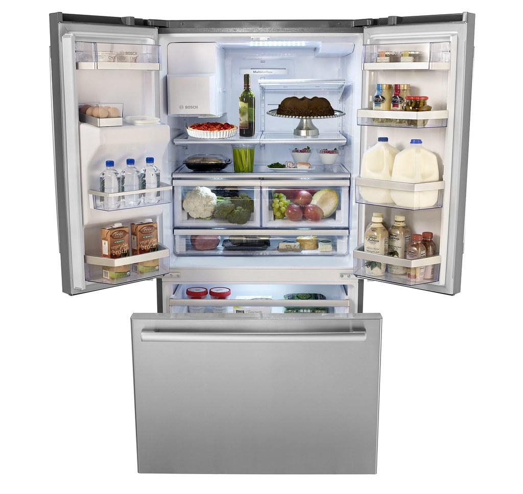 Bosch French Door Refrigerator With Bottom Mount Freezer