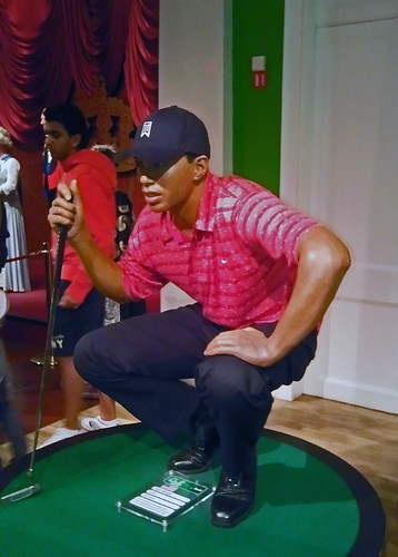 Tiger Woods Waxwork | by reveriewit