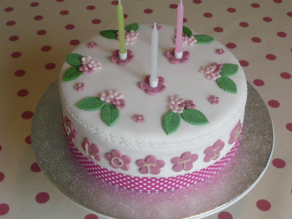 Birthday Cake And Message For Teenage Girl