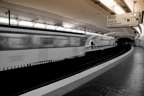 Porte de clignancourt metro station porte de clignancourt flickr - Metro porte de clignancourt ...