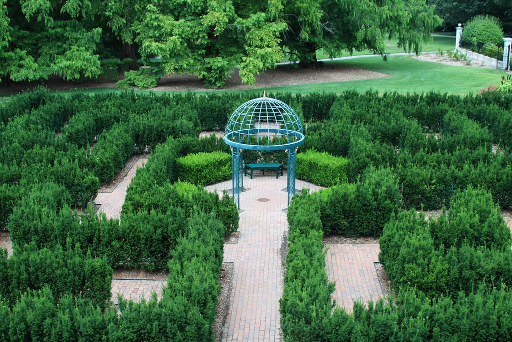 069 St Louis 016 Missouri Botanical Garden Maze From Flickr