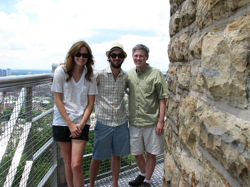 Atop Vulcan's pedastal with Alex and Luke | by MCuthbert