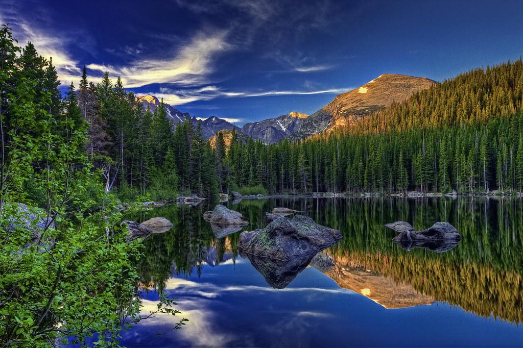 Bear lake 4 view on black bern harrison flickr for Paesaggi naturali hd