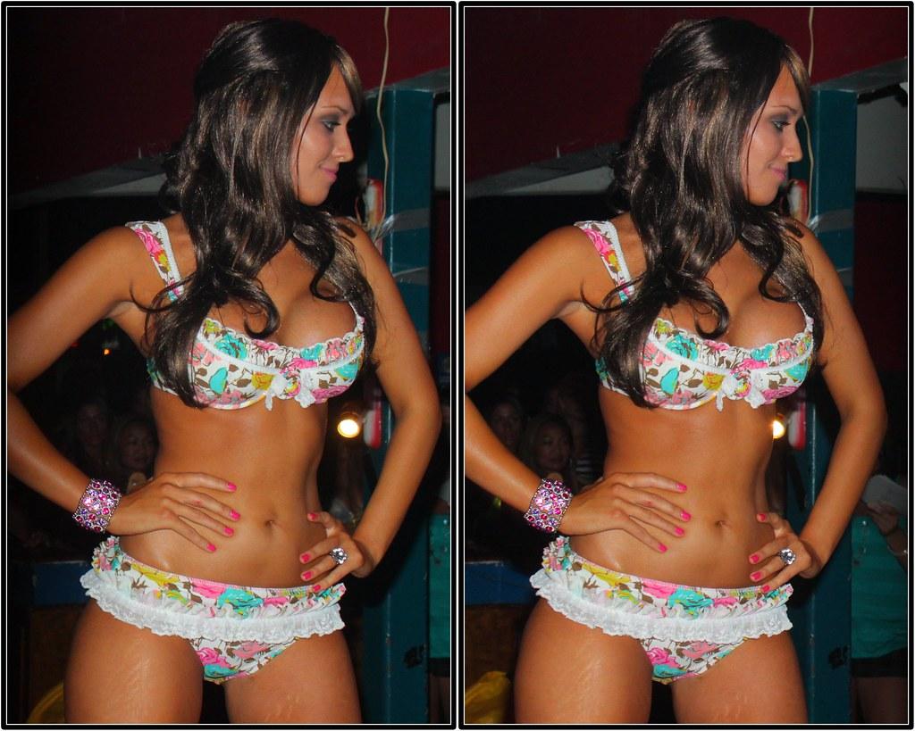 Miss Darque Tan Model Search Rookies Sports Bar The Wood
