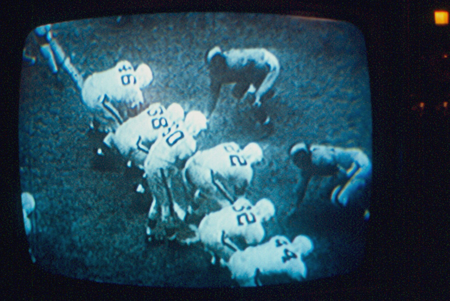 Cleveland Browns In 1950 Nfl Championship Game The